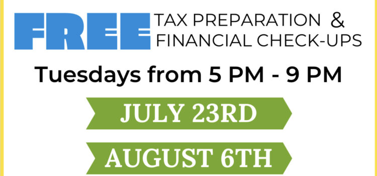 Boston Tax Help's One-Day Tax Clinics for the Summer