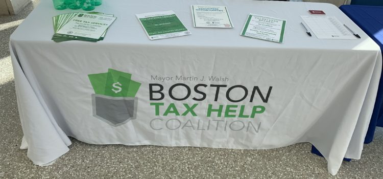 Volunteer Registration for Boston Tax Help Coalition for Tax Season 2020 is now OPEN!